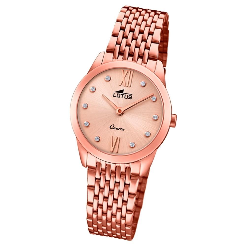 Lotus Damen-Armbanduhr Edelstahl roségold 18478/2 Quarz Minimalist UL18478/2