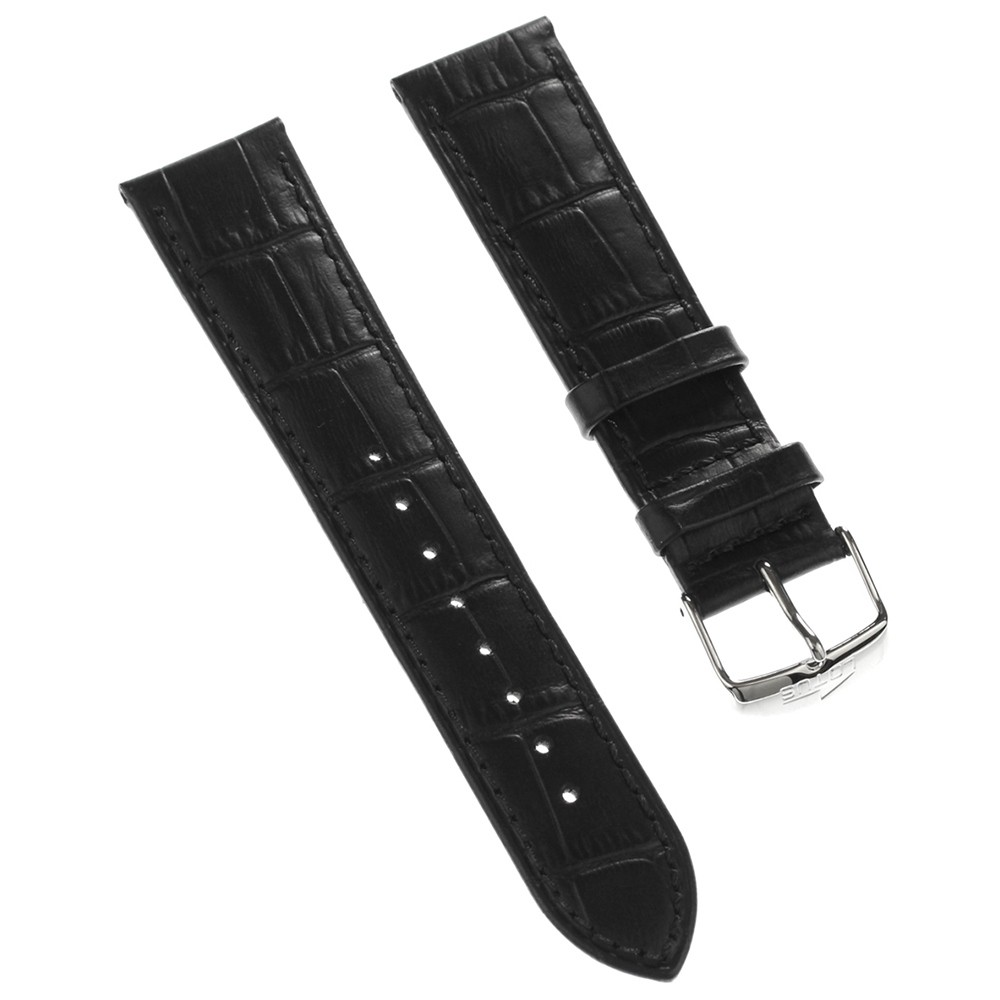 Lotus Herren Uhrenarmband 22mm Leder-Band schwarz für Lotus L15961 L15956 L15960 ULA15961/S