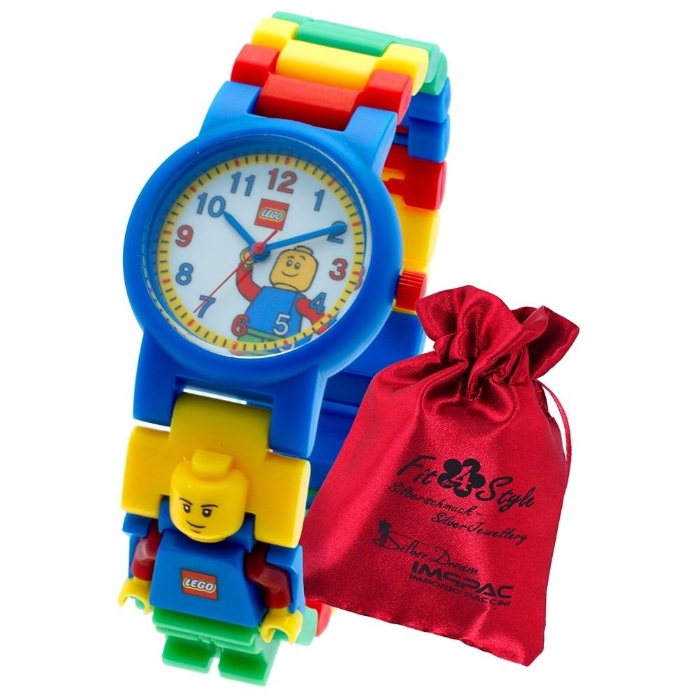 LEGO Classic Figur Kinderuhr mit Säckchen 8020189 Armbanduhr ULE8020189