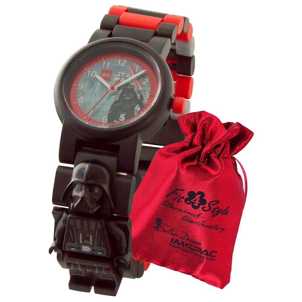 LEGO Star Wars Darth Vader 8021018 Kinder-Uhr mit Säckchen ULE8021018