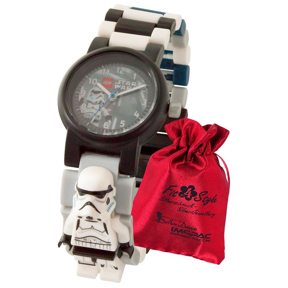 LEGO Star Wars Stormtrooper 8021025 Kinder-Uhr mit Säckchen ULE8021025