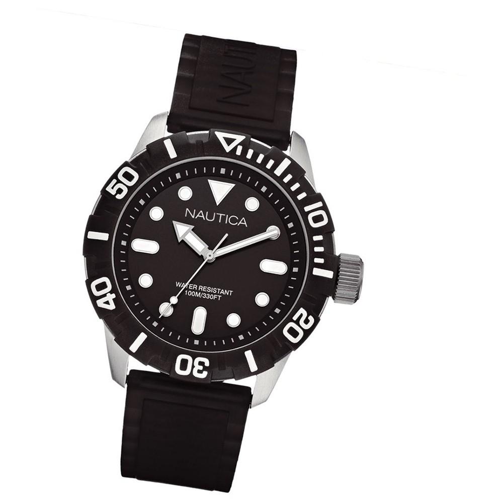 NAUTICA Unisex Uhr schwarz A Sea of Color NSR 100 Black UNA09600G