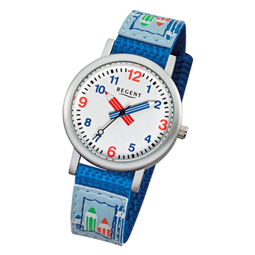 Armbanduhr kinder  Armbanduhr Kinder Aluminium Quarz Stifte Textil blau Jungen Uhr URF731