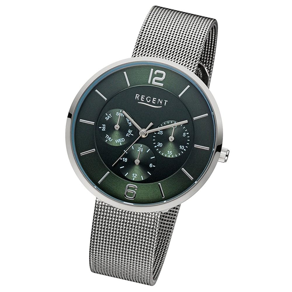 Regent Damen-Armbanduhr 32-LD-1619 Quarz-Uhr Edelstahl silber URLD1619
