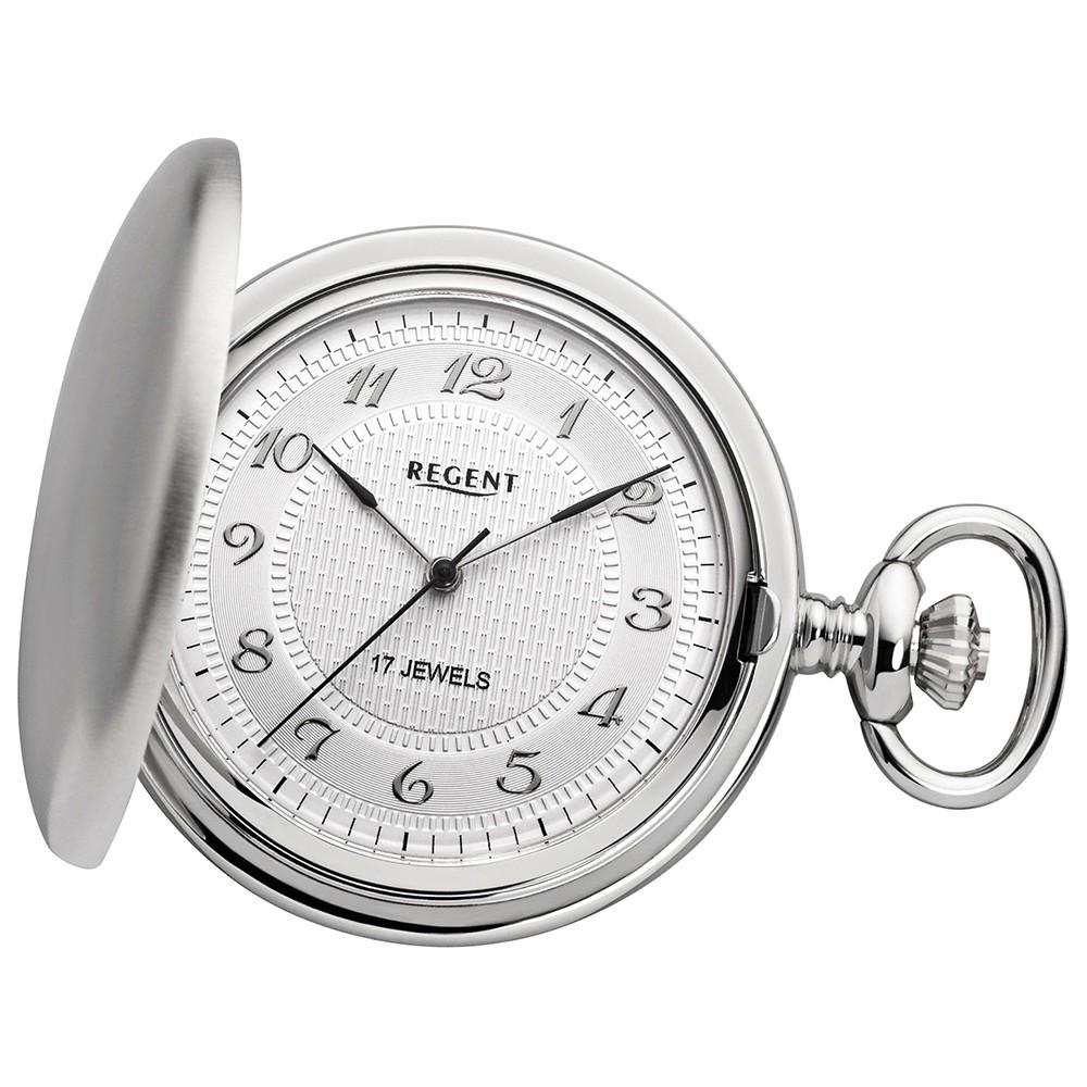 Regent Taschenuhren Damen, Herren mechanisches Uhrwerk Handaufzug URP014