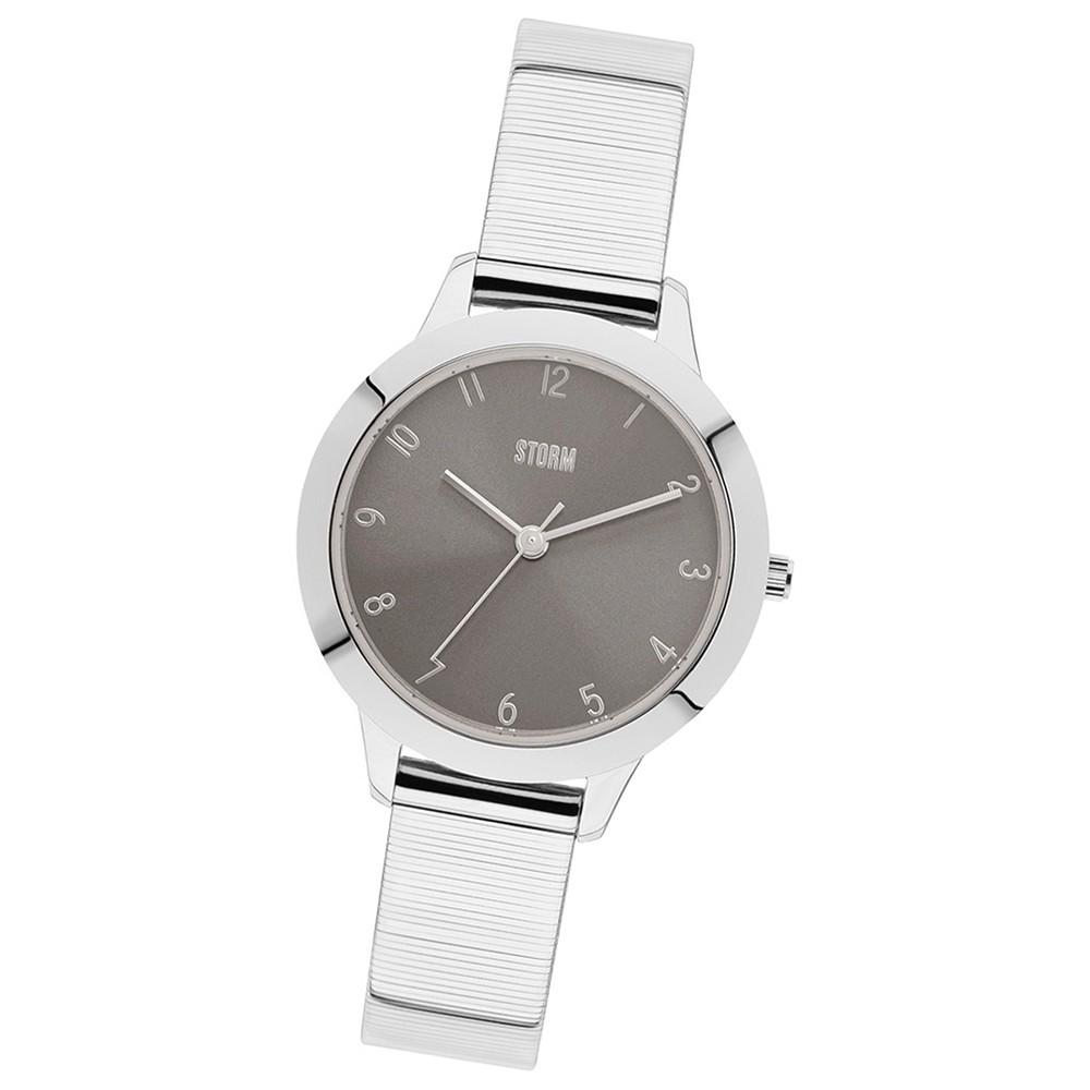 Storm Damen-Armbanduhr 47291/S0 Quarz-Uhr Edelstahl-Armband silber UST47291/S0