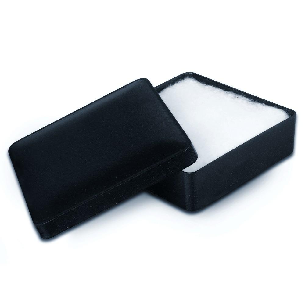 IMPPAC Ring und Schmuck Schachtel blau Etui Verpackung 66x66 VE050