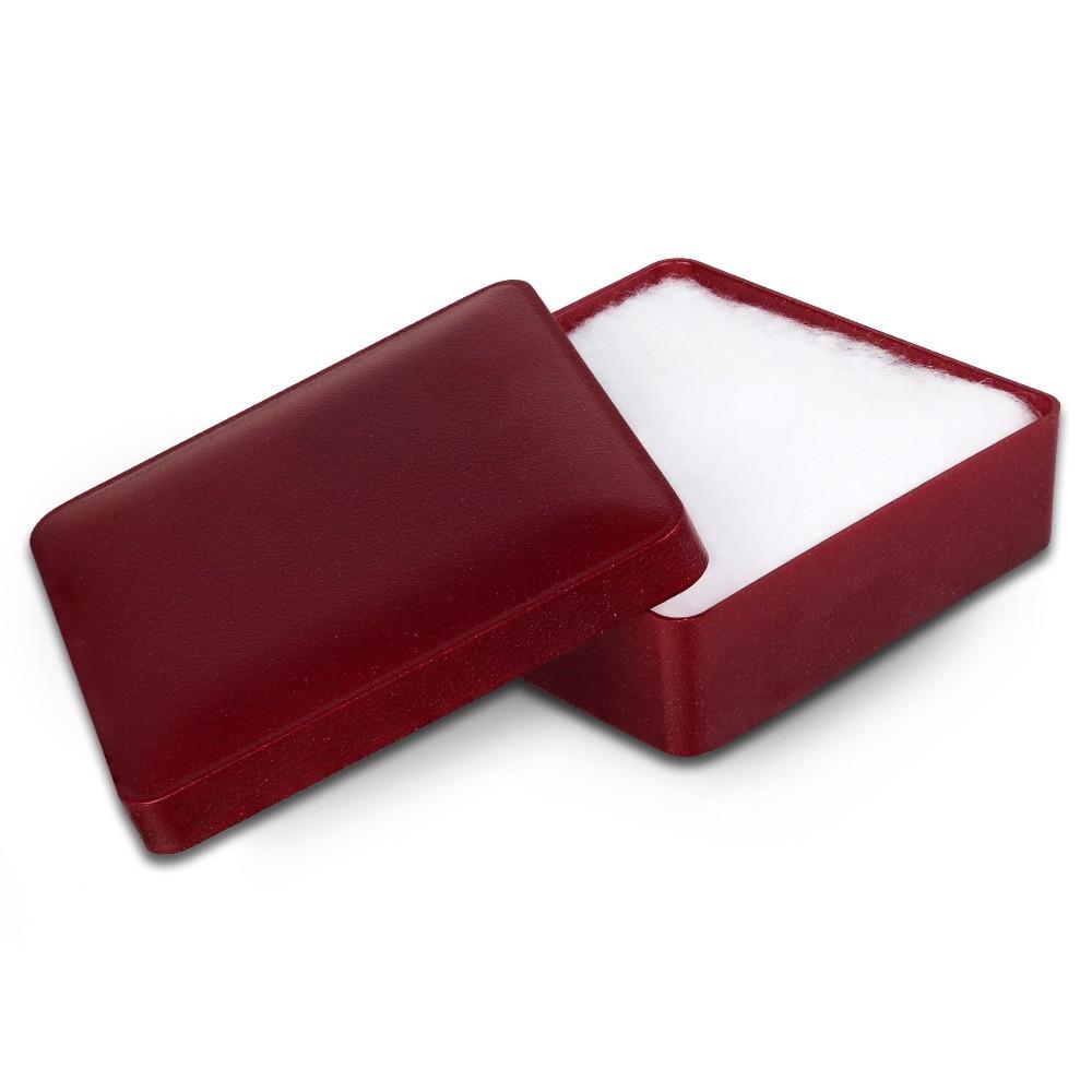 IMPPAC Ring und Schmuck Schachtel rot Etui Verpackung 66x66 VE052