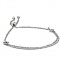 Armäleon Damenarmband Komplettset Ketten Design+Verschluss 925 Silber ARS007J
