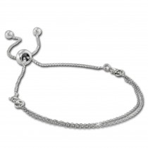 Armäleon Damenarmband Komplettset Ketten Design+Verschluss 925 Silber ARS014J