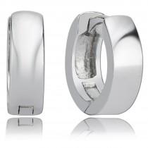 Balia Creolen für Damen glänzend aus 925er Sterling Silber BAO0011SS