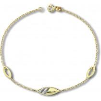 Balia Damen Armband aus 333 Gelbgold mit Zirkonia BGA0002G8