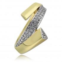 Balia Damen Ring aus 333 Gelbgold mit Zirkonia Gr.56 BGR008G56