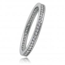 Balia Damen Ring aus 333 Weißgold mit Zirkonia Gr.56 BGR011W56