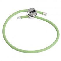 Carlo Biagi Kidz Bead Armband Kautschuk grün 925 KBRRLLG