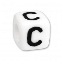 Bead Buchstabe C Beads für Armband KSPPWC