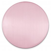 Amello Coin Cateye Glas 30mm rosa für Coinsfassung Edelstahlschmuck ESC707A
