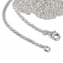 SilberDream 925er Silber Charm Kette Halskette 55cm FC002955-1
