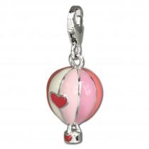 SilberDream Charm Heißluftballon 925 Silber Armband Anhänger FC672