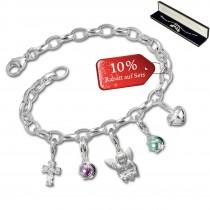 SilberDream Armband Fashion Charm Set Versuchung 925 Anhänger FCA331