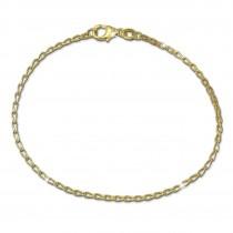 SilberDream Armband Zopf 375 Gelbgold Damen 18cm GDA0508Y
