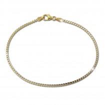 SilberDream Armband Fantasie bicolor 333er Gold 19cm 8 Karat Echtgold GDA0569Y