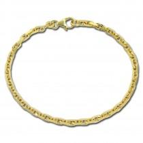 GoldDream Damen Armband 18,7cm Gelbgold 8 Karat GDAB01219Y
