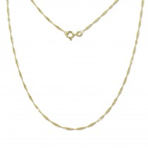 GoldDream Collier Kette Singapur 333 Gold Damen 45cm 8 Karat GDK00445Y