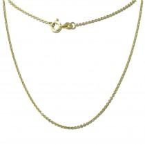 GoldDream Damen Colliers Halskette 36cm Gelbgold 8 Karat GDKB00036Y