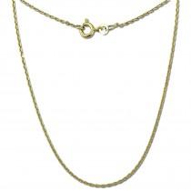 GoldDream Damen Colliers Halskette 60cm Gelbgold 8 Karat GDKB00260Y
