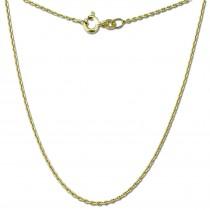 GoldDream Damen Colliers Halskette 42cm Gelbgold 8 Karat GDKB00342Y