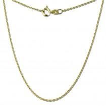 GoldDream Damen Colliers Halskette 50cm Gelbgold 8 Karat GDKB00350Y