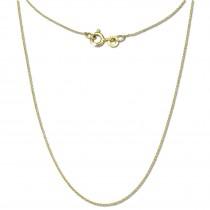 GoldDream Damen Colliers Halskette 42cm Gelbgold 8 Karat GDKB00542Y