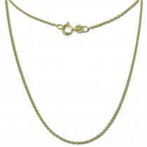 GoldDream Damen Colliers Halskette 55cm Gelbgold 8 Karat GDKB00755Y