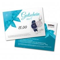 Gutschein im Wert 15,-EUR für unsere Online-Shops imppac.de GS015
