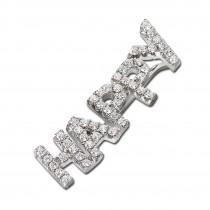 SilberDream Ear Cuff HAPPY Ohrring Ohrklemme 925 Sterling Silber GSO502W