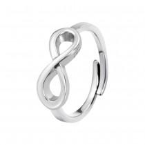 LOTUS Silver - Damen Ring Unendlich mit verstellbaren Ring Silber JLP1224-3-2
