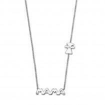 LOTUS Silver Halskette Mama Girl 925 Silber LP1239-1/1 Zirkonia JLP1239-1-1