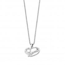 LOTUS Silver Halskette Herz Mami 925 Silber LP1240-1/1 Zirkonia JLP1240-1-1