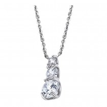 LOTUS Silver Halskette 925 Silber LP1289-1/1 Zirkonia Pure Essential JLP1289-1-1