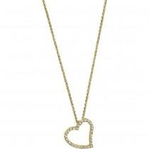 LOTUS Silver - Damen Halskette Herz vergoldet aus 925 Silber JLP1519-1-2