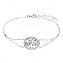 LOTUS Silver - Damen Armband Lebensbaum weiß aus 925 Silber JLP1746-2-1