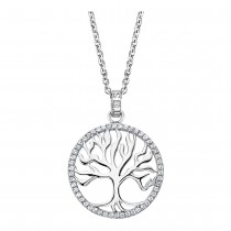 LOTUS Silver Halskette Lebensbaum 925 Silber LP1779-1/1 Zirkonia JLP1779-1-1