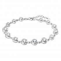 LOTUS Silver - Damen Armband Zirkonia weiß aus 925 Silber JLP1787-2-1