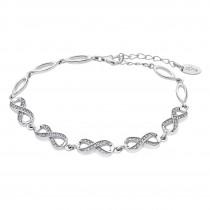 LOTUS Silver - Damen Armband Unendlich weiß aus 925 Silber JLP1871-2-1