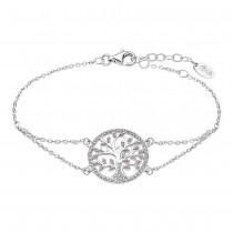 LOTUS Silver Armband Lebensbaum 925 Silber LP1897-2/1 rosa Zirkonia JLP1897-2-1