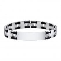LOTUS Style Armband Edelstahl schwarz Herren Schmuck JLS1177-2-4