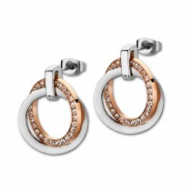 LOTUS Style Ohrringe Damen Edelstahl silber LS1780-4/2 Ohrstecker JLS1780-4-2