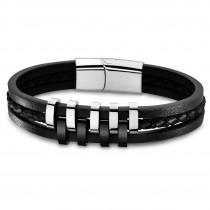 Lotus Style Armband Herren Edelstahl silber LS1838-2/1 Urban JLS1838-2-1