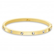 Lotus Style Armband, Armreif Damen Edelstahl gold LS1846-2/2 Bliss JLS1846-2-2